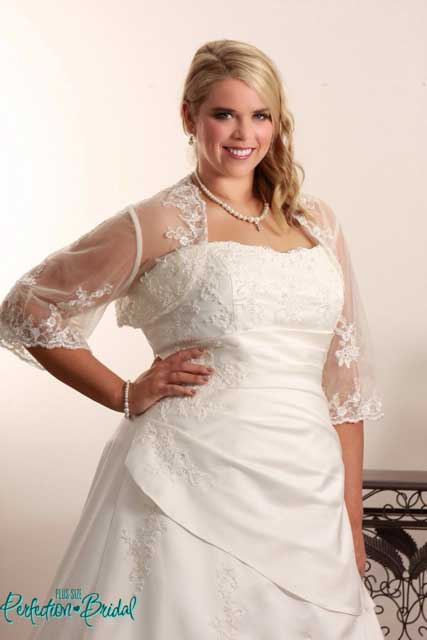plus size white wedding dresses Jennifer