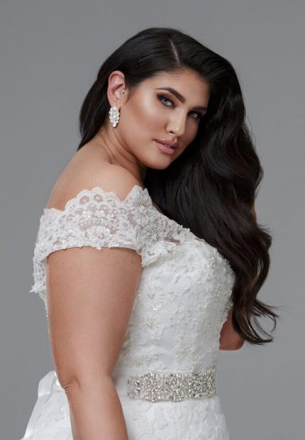 Bernadette wedding dress plus size