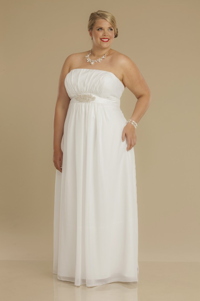 Aster plus size deb dress