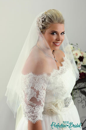 wedding dress Jackets plus size