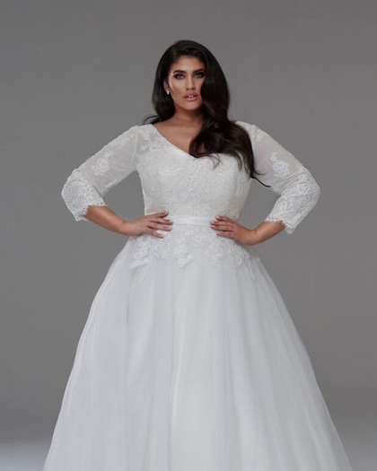 Magic corset at plus size perfection bridal