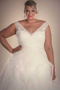 Bridal gown Hollywood