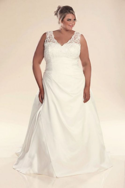 A line wedding dresses Jenny