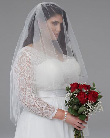 Gabbi wedding dresses with long sleeves