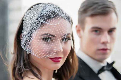 Birdcage wedding veil best styles of wedding veils