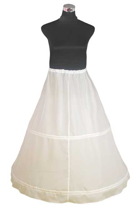 double wedding dress petticoat