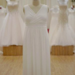Plus size ivory bridesmaids dresses