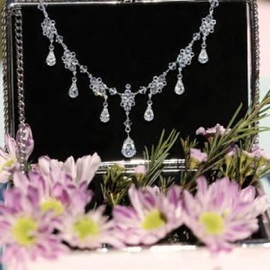 Multi drop bridal necklace Nivarna