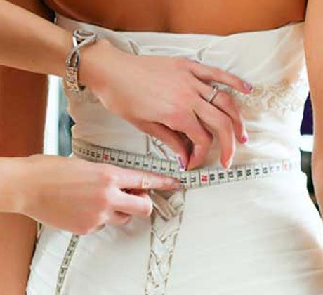 Size chart for plus size wedding dresses
